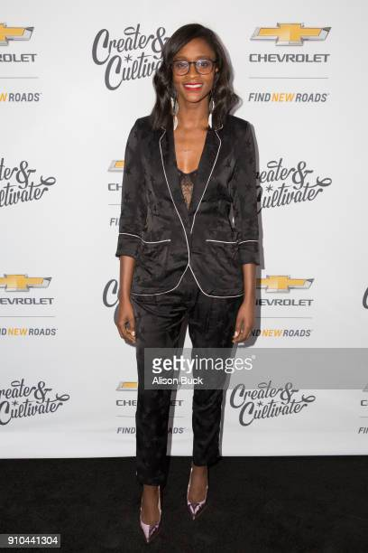 Detroit Blows Nia Batts attends Create Cultivate and Chevrolet Host Create Cultivate 100 on January 25 2018 in Culver City California