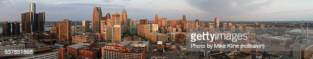 Detroit - Complete panoramic view