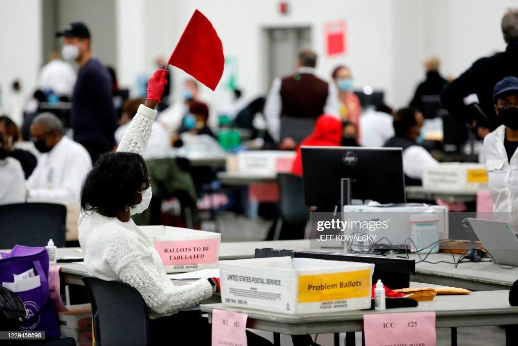US-VOTE-MICHIGAN : News Photo