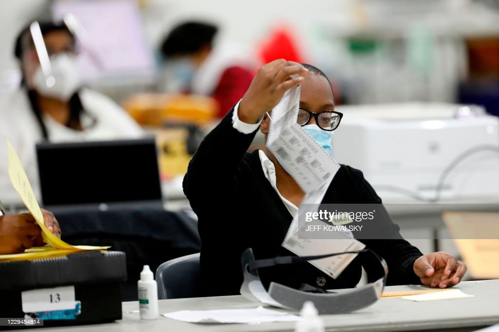 US-VOTE-MICHIGAN : News Photo