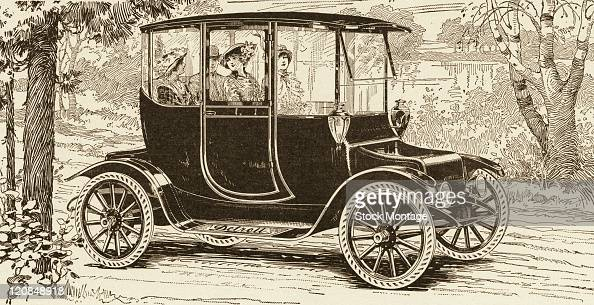 A Detroit Electric Automobile Is Shown In An Ilration From News Photo Getty Images