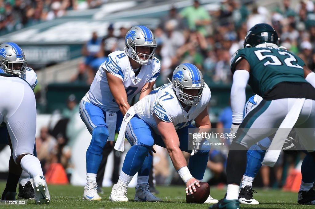 NFL: SEP 22 Lions at Eagles : News Photo