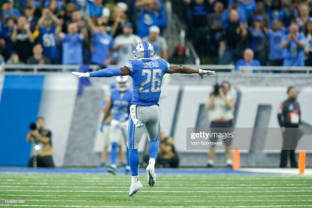 NFL: OCT 07 Packers at Lions : News Photo