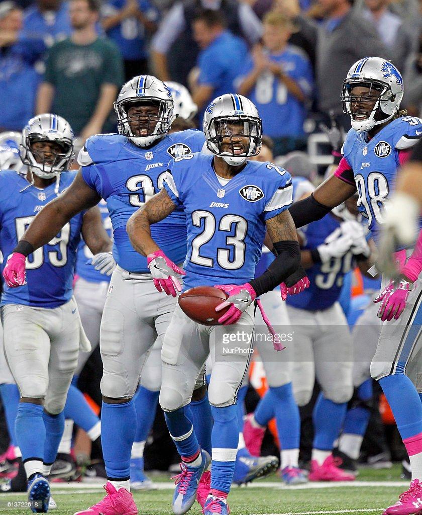 NFL Detroit Lions vs. Philadelphia Eagles : News Photo