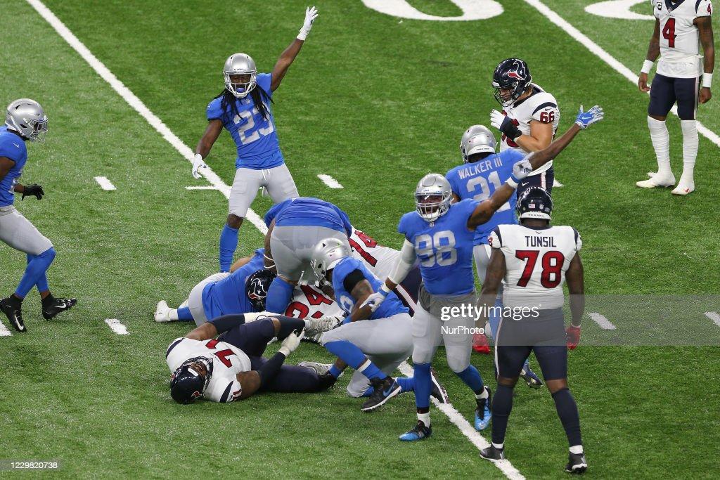 Houston Texans v Detroit Lions : News Photo
