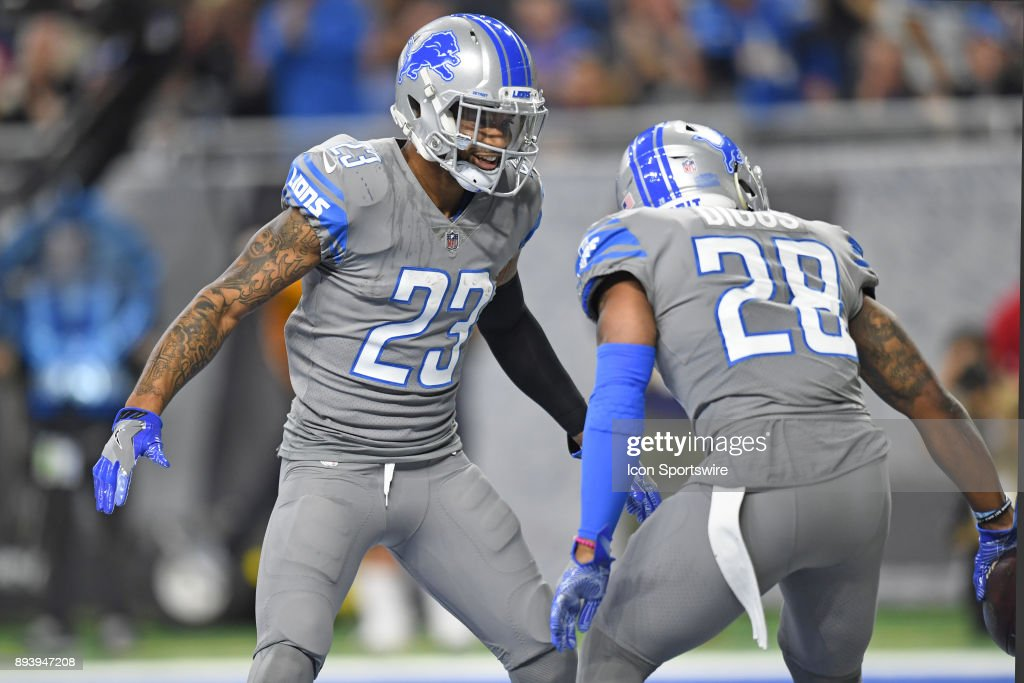 NFL: DEC 16 Bears at Lions : News Photo