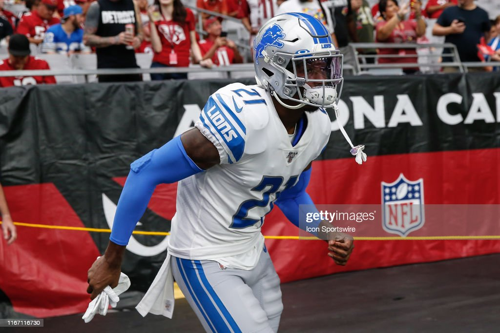 info for 7f680 b25a6 Detroit Lions defensive back Tracy Walker runs onto the ...