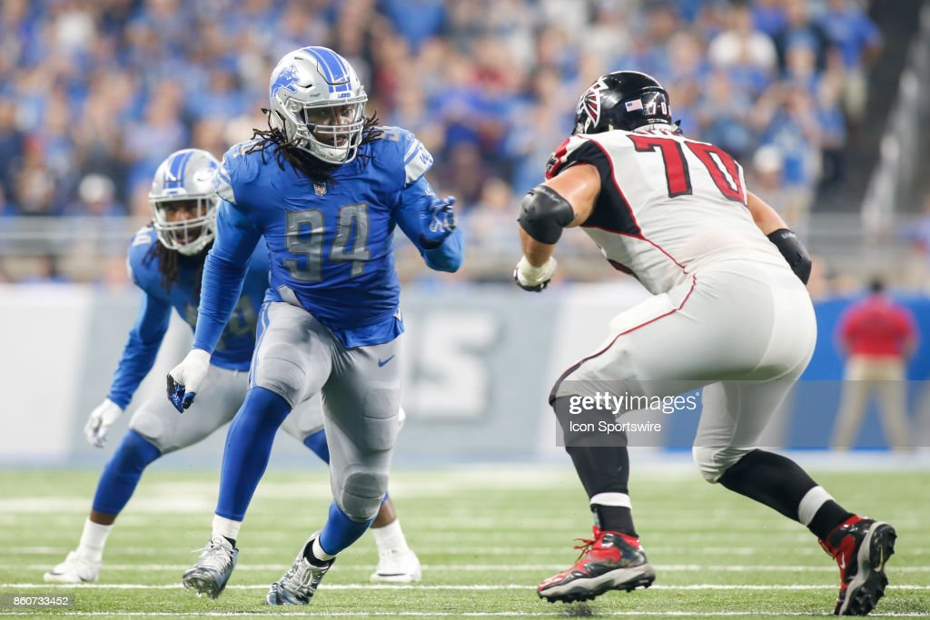 NFL: SEP 24 Falcons at Lions : News Photo