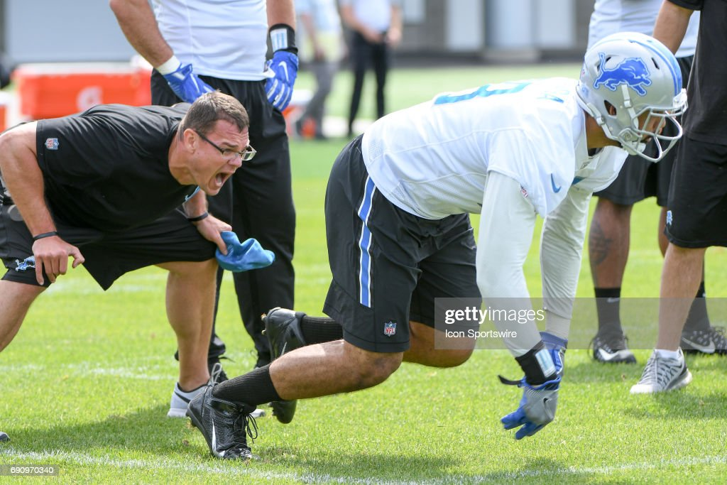 NFL: MAY 31 Lions OTA : News Photo