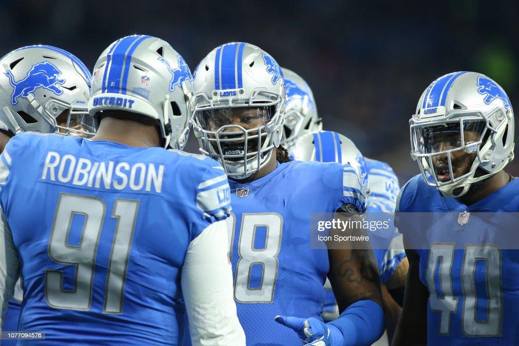 NFL: DEC 23 Vikings at Lions : ニュース写真