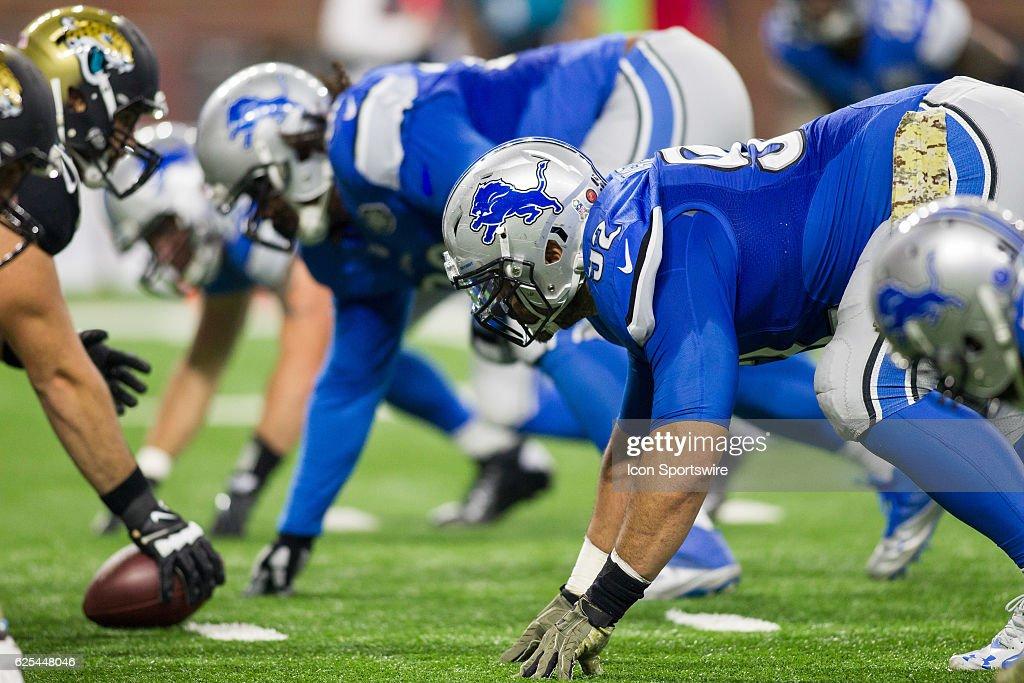 NFL: NOV 20 Jaguars at Lions : News Photo