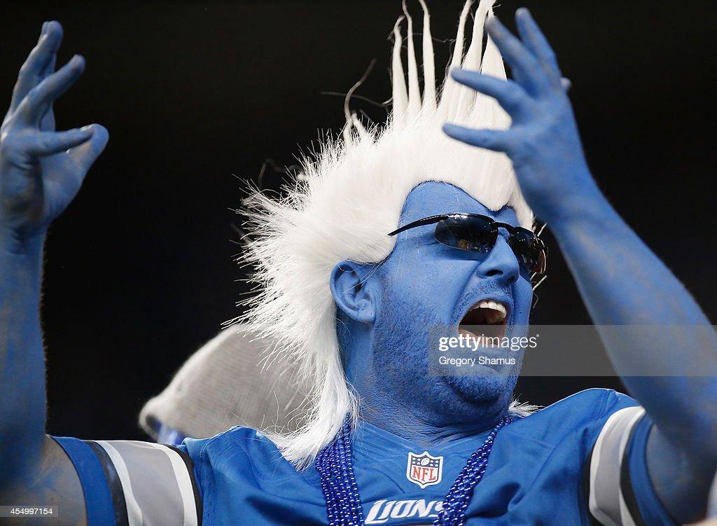 New York Giants v Detroit Lions : News Photo