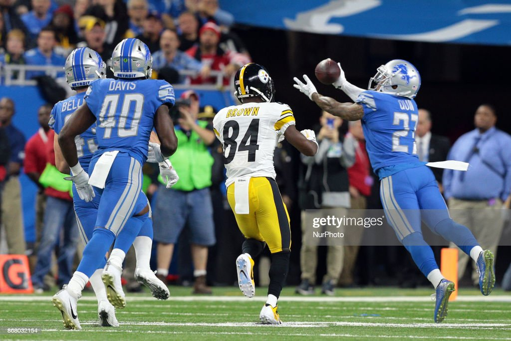 Pittsburgh Steelers v Detroit Lions : News Photo