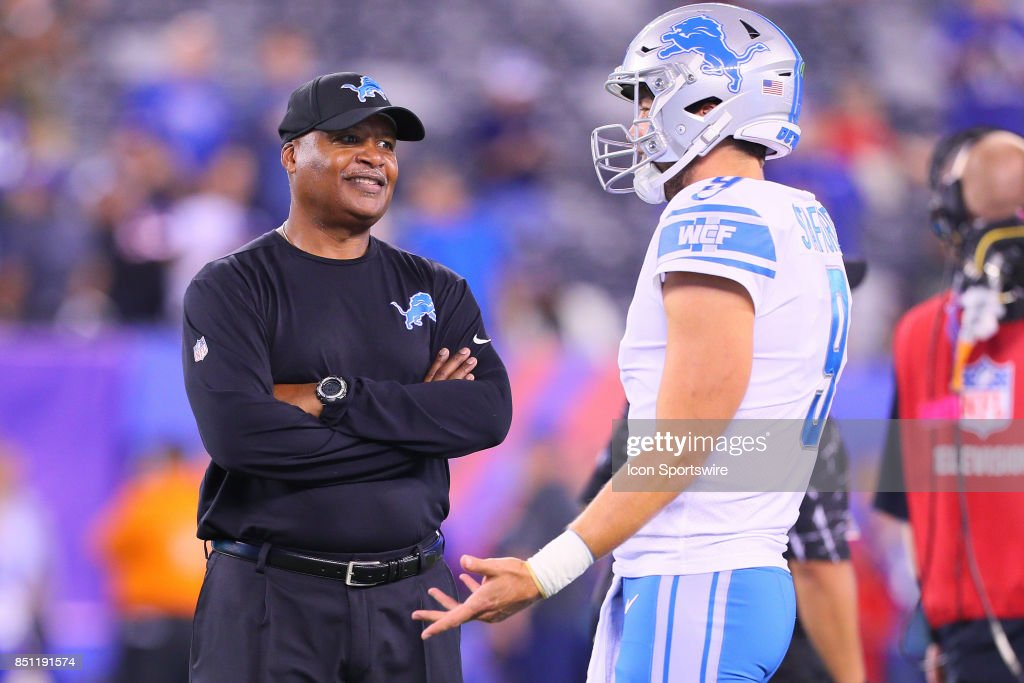 NFL: SEP 18 Lions at Giants : News Photo