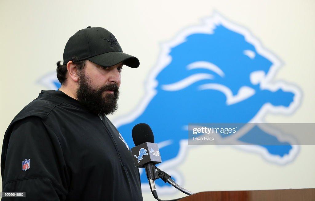 Detroit Lions News Conference