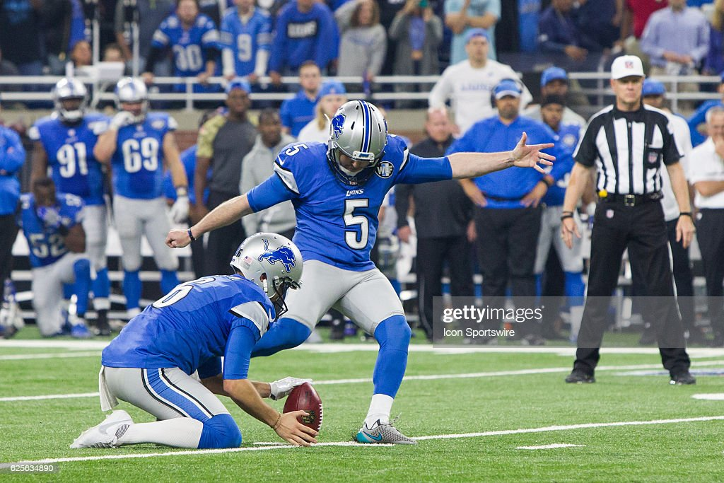 NFL: NOV 24 Vikings at Lions : News Photo