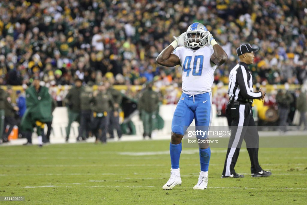 NFL: NOV 06 Lions at Packers : News Photo