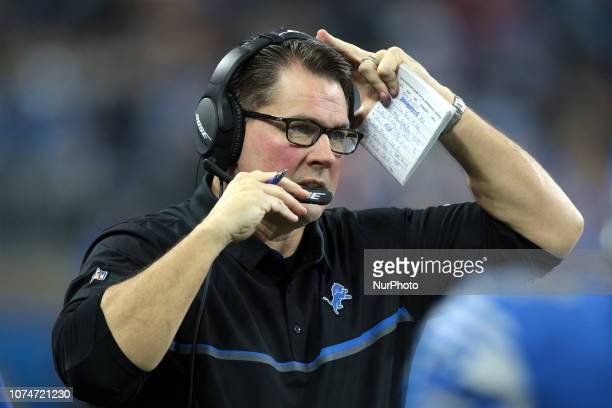Detroit Lions linebackers Al Golden is seen during the first half of an NFL football game against the Minnesota Vikings in Detroit, Michigan USA, on...