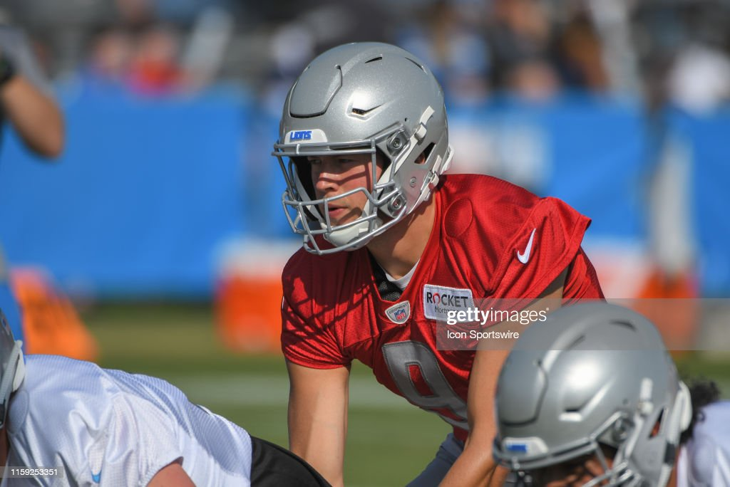 NFL: AUG 01 Detroit Lions Training Camp : News Photo