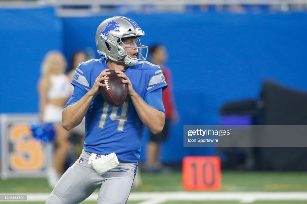 NFL: AUG 30 Preseason - Browns at Lions : News Photo