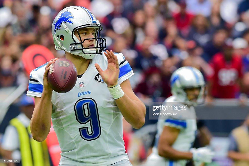 NFL: OCT 30 Lions at Texans : ニュース写真