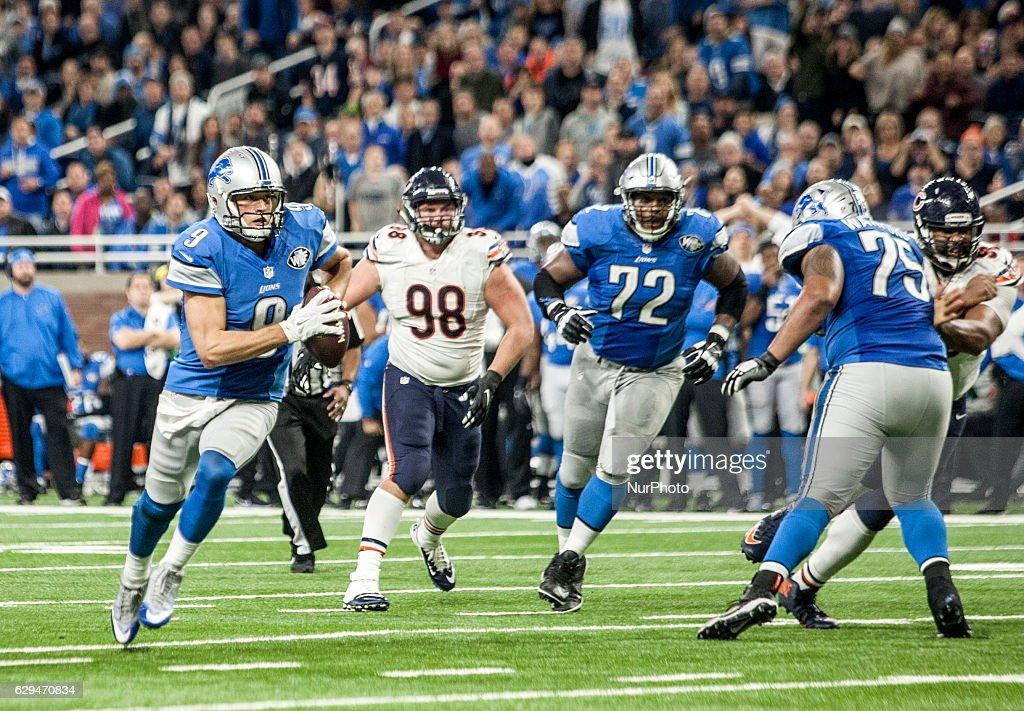 Chicago Bears vs Detroit Lions : News Photo