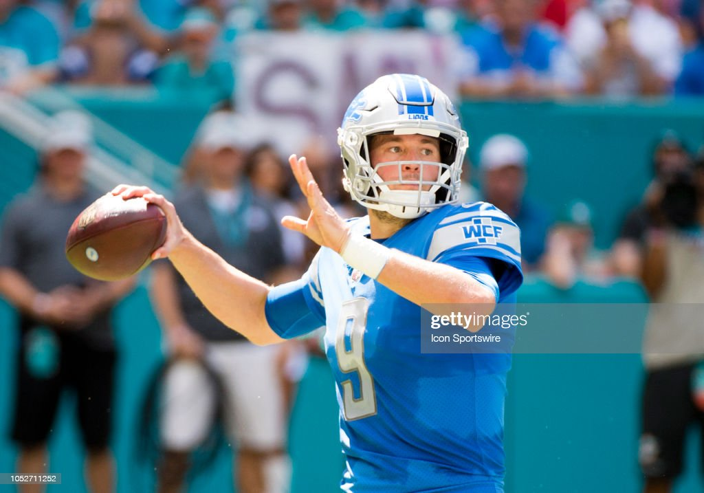 NFL: OCT 21 Lions at Dolphins : News Photo