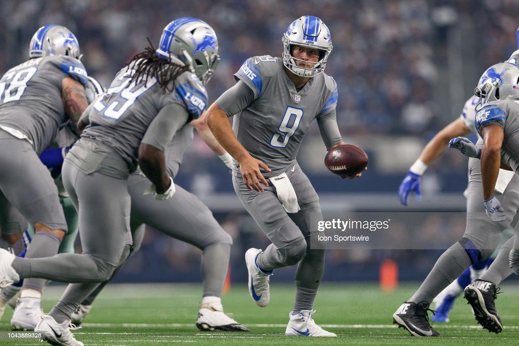 NFL: SEP 30 Lions at Cowboys : News Photo