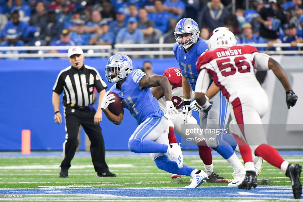 NFL: SEP 10 Cardinals at Lions : News Photo