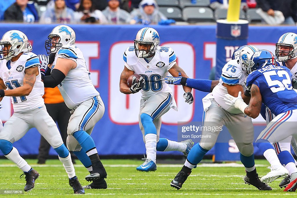 NFL: DEC 18 Lions at Giants : News Photo