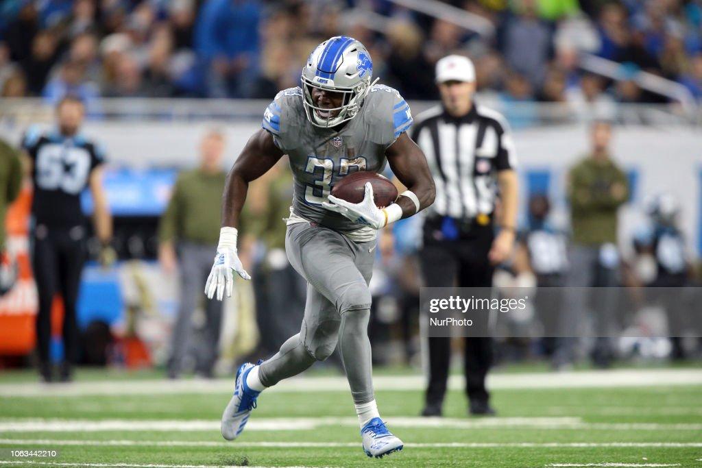 Carolina Panthers v Detroit Lions : Fotografia de notícias