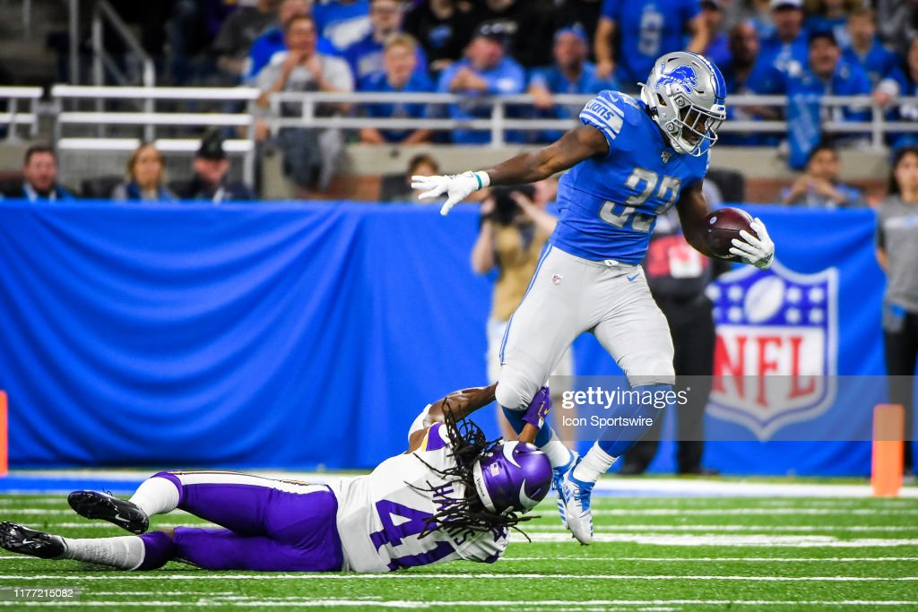 NFL: OCT 20 Vikings at Lions : News Photo