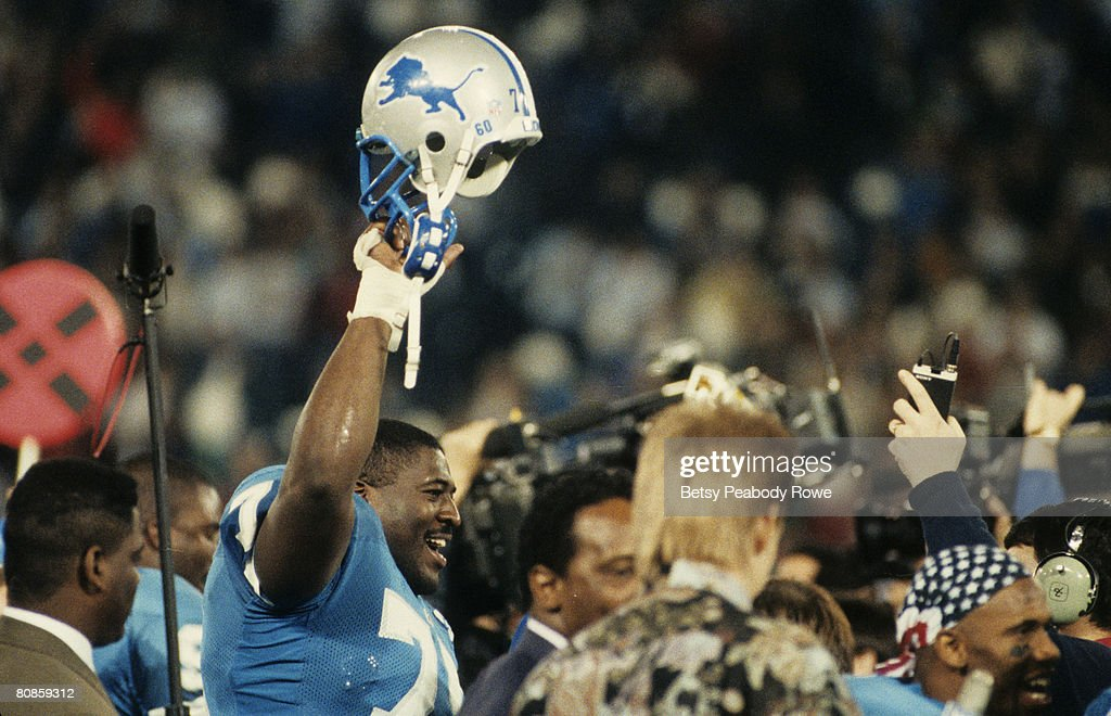 1991 NFC Divisional Playoff Game - Dallas Cowboys vs Detroit Lions - January 5, 1992 : News Photo