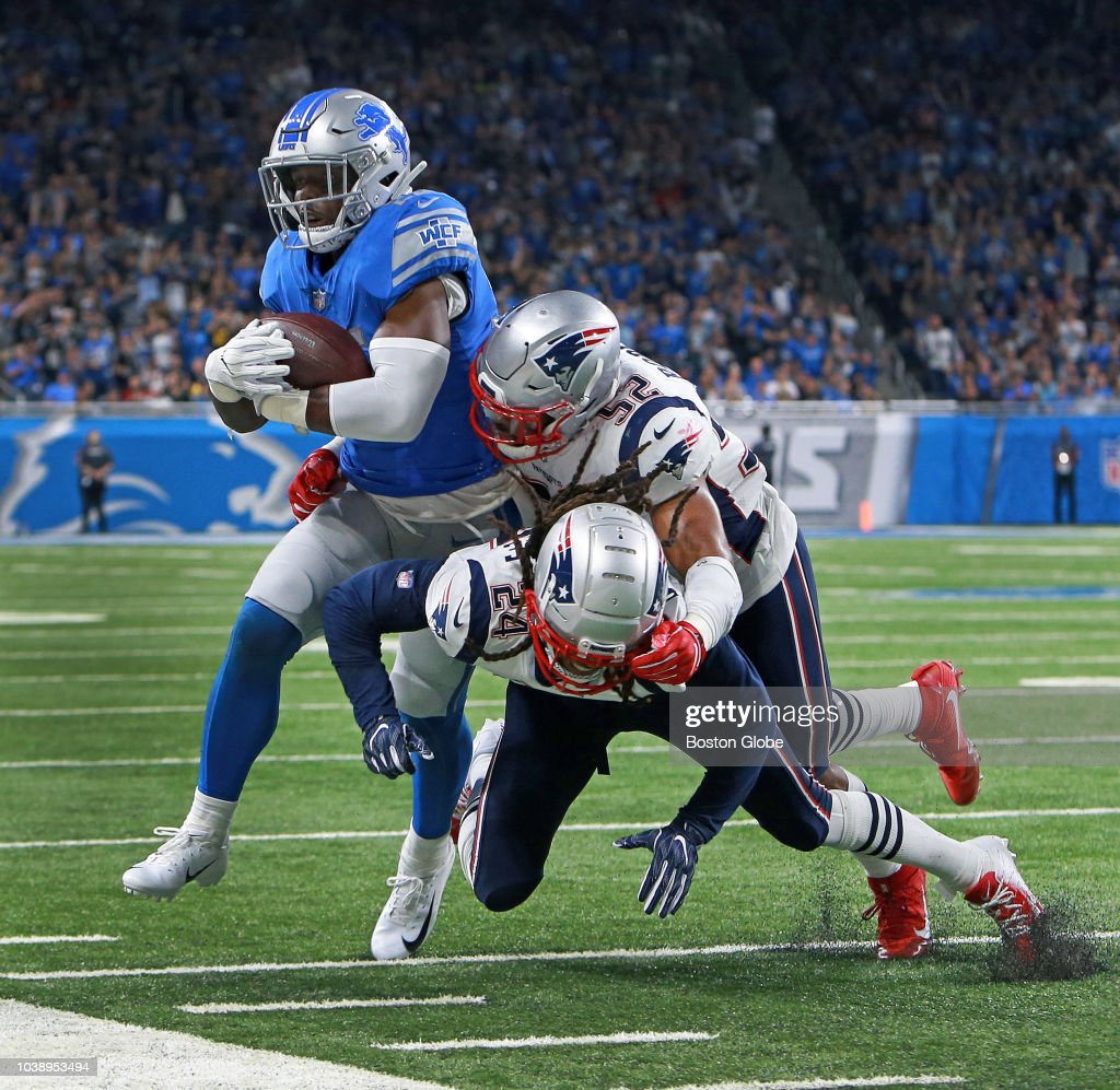 New England Patriots Vs Detroit Lions At Ford Field : News Photo