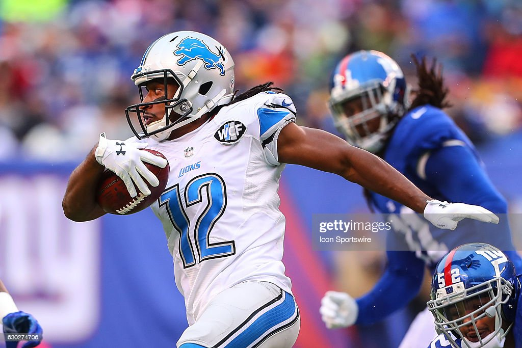 NFL: DEC 18 Lions at Giants : News Photo