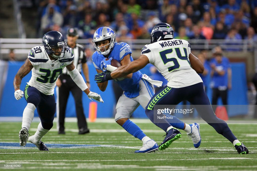 Seattle Seahawks v Detroit Lions : News Photo