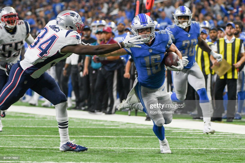 NFL: AUG 25 Preseason - Patriots at Lions : News Photo