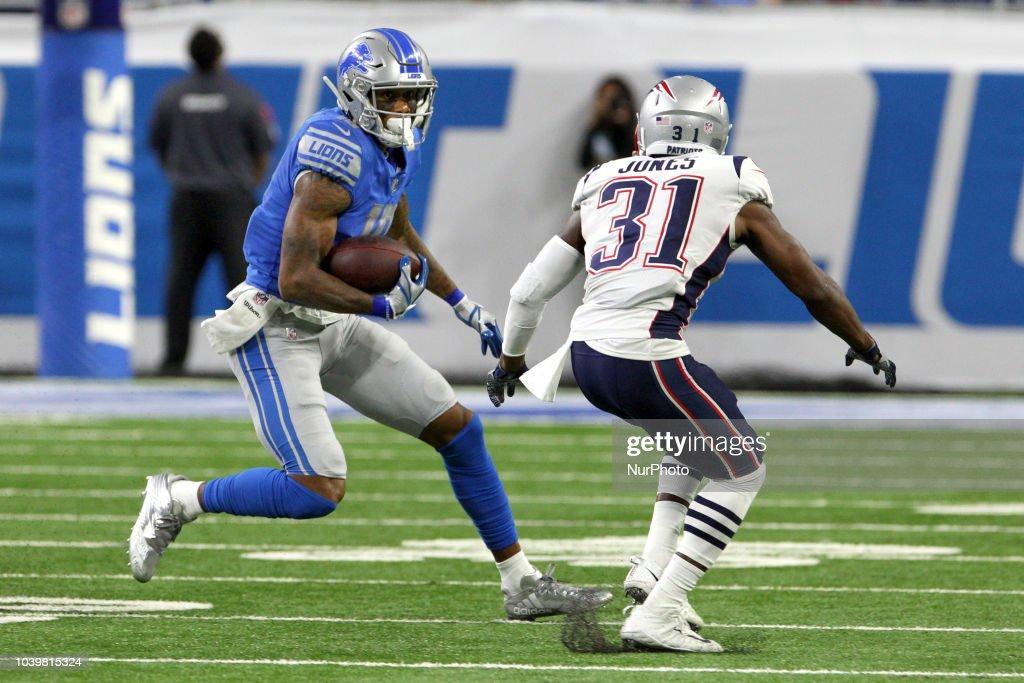 New England Patriots v Detroit Lions : Nachrichtenfoto