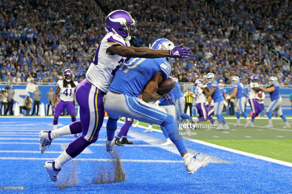 Minnesota Vikings v Detroit Lions : ニュース写真