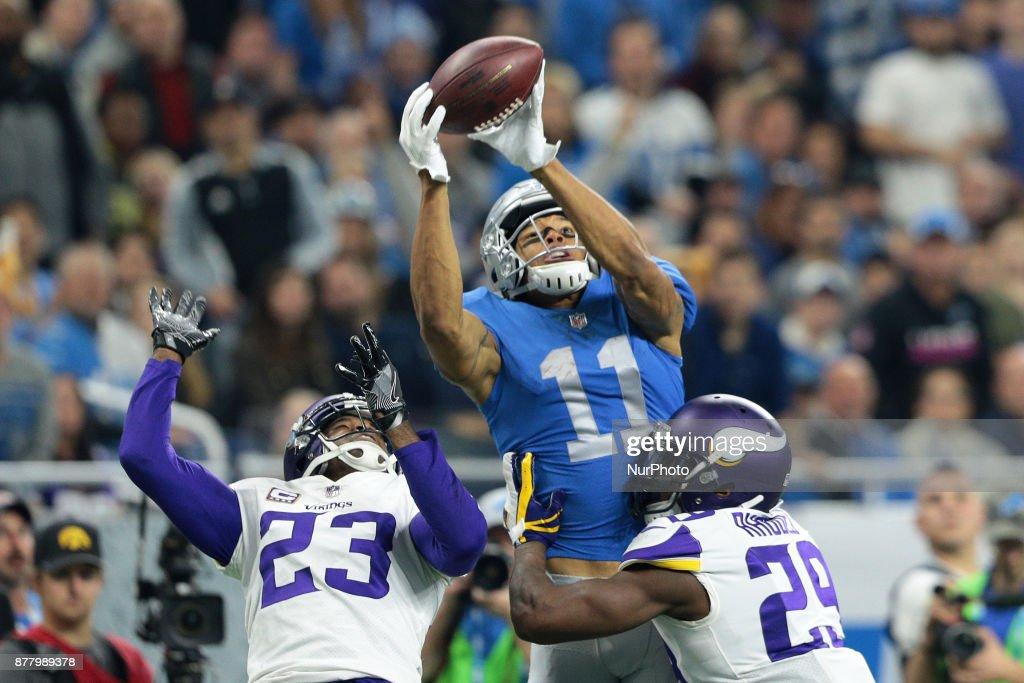 Minnesota Vikings vs Detroit Lions - NFL : News Photo