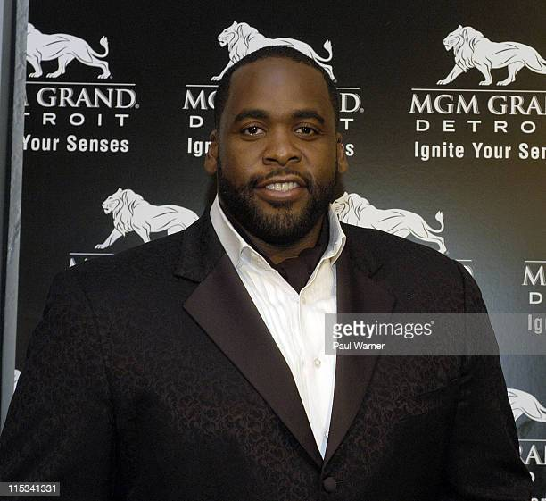 Detroit Mayor Kwame Kilpatrick at the MGM Grand Detroit Grand Opening in Detroit