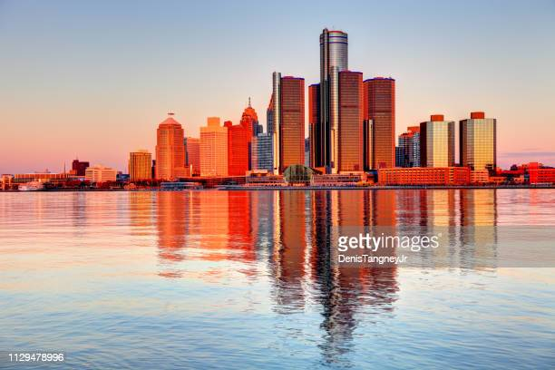 detroit, michigan - detroit stock pictures, royalty-free photos & images