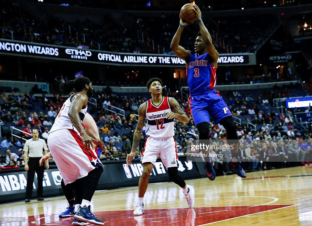 Washington Wizards vs Detroit Pistons: NBA : News Photo