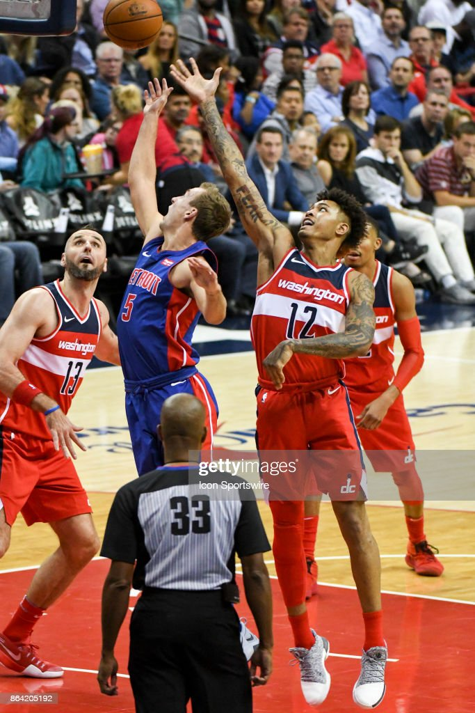 NBA: OCT 20 Pistons at Wizards : News Photo