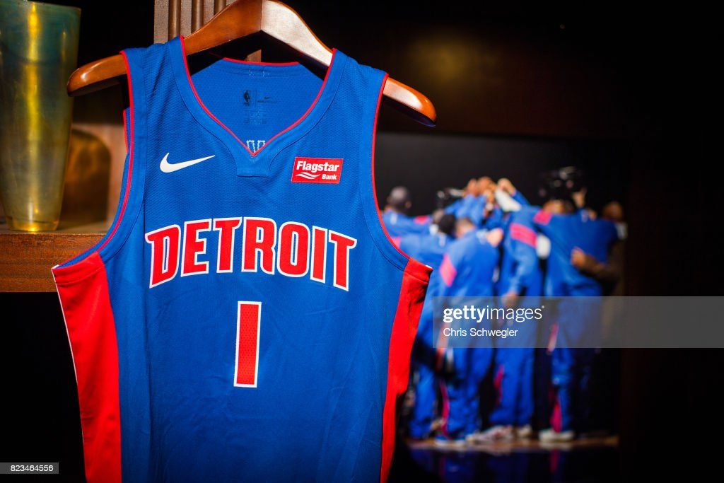 new product 9e749 3bf5c Detroit Pistons introduce two new uniforms by Nike on July ...