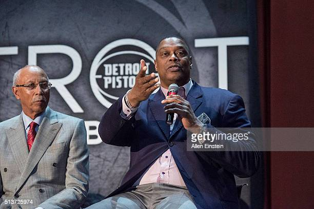 Detroit Pistons Legend Rick Mahorn helps announce a new partnership that will directly impact Detroit Public School students at Osborn High School on...