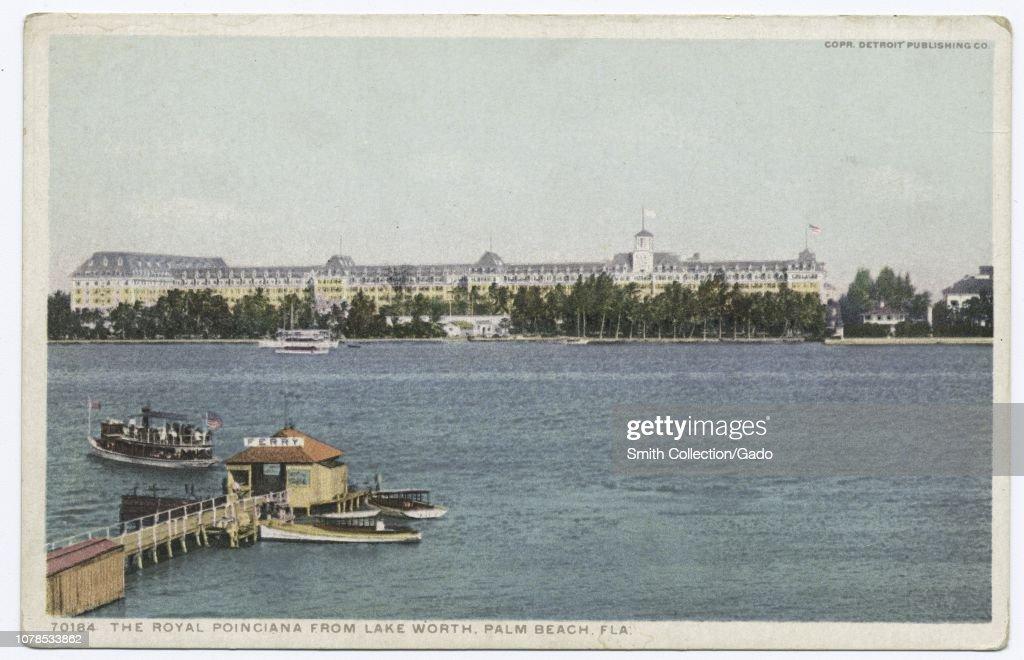 Detroit Publishing Company vintage postcard reproduction of