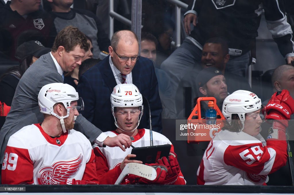 detroit red wings coaches