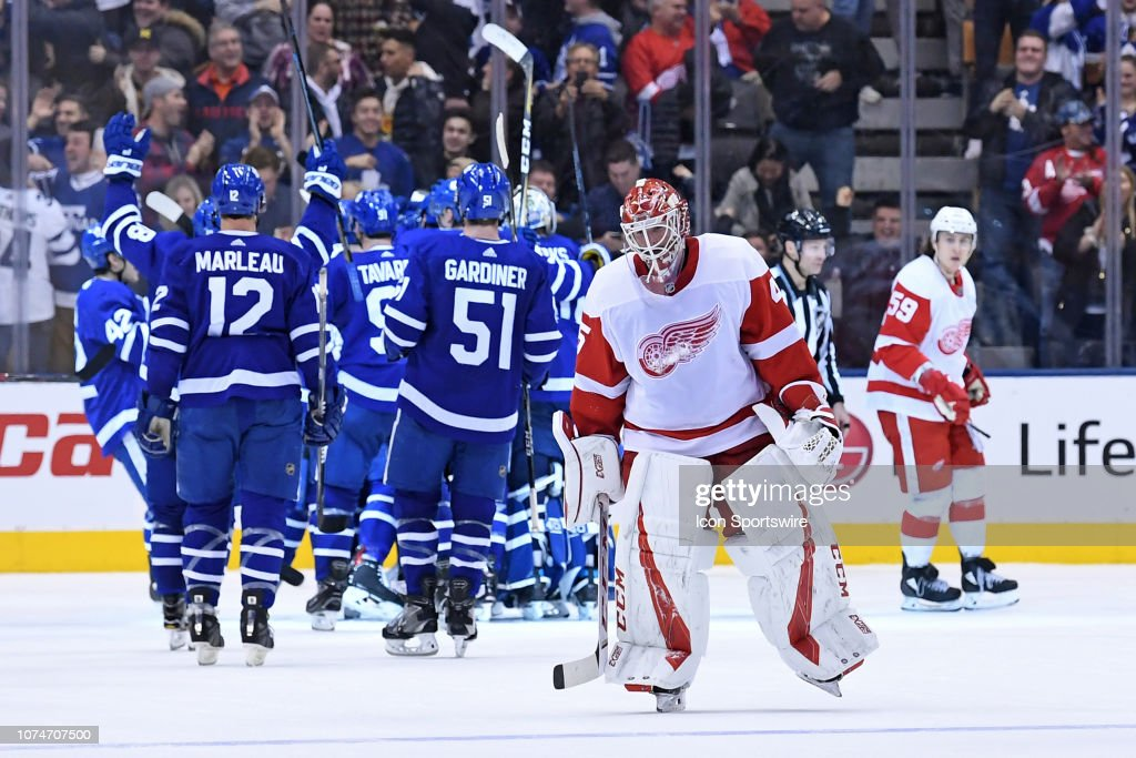 NHL: DEC 23 Red Wings at Maple Leafs : News Photo