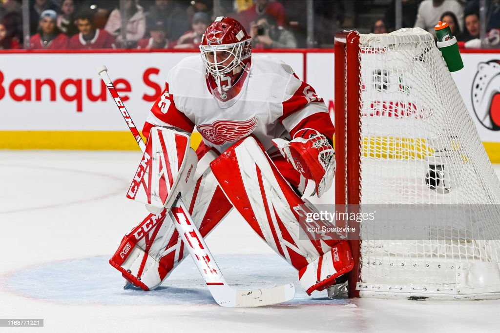 NHL: DEC 14 Red Wings at Canadiens : News Photo
